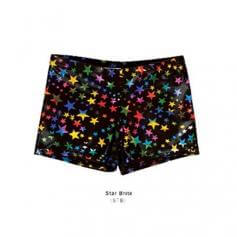 Body Wrappers Trendy Hot Shorts Star Brite