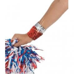 Body Wrappers Sequin Elastic Wristbands