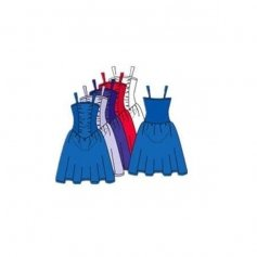 Body Wrappers Adult Tutu dress with Full Two Layer Skirt