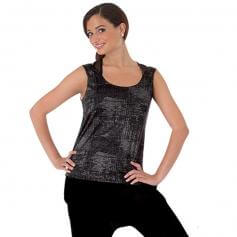 Body Wrappers Adult Sanded Metallic Pullover