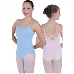 Body Wrappers Child BWclasswear Back Strap Leotard