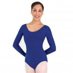 Body Wrappers Classwear Long Sleeve Ballet Cut Leotard