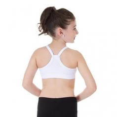 Body Wrappers Child Camisole V-Back Bra