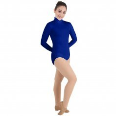 Body Wrappers ProWEAR Zip Back Mock Turtleneck Leotard
