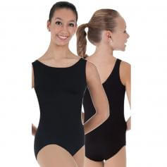 Body Wrappers Boatneck Leotard