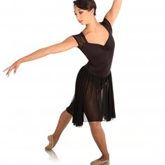 Body Wrappers Open Back Dance Dress