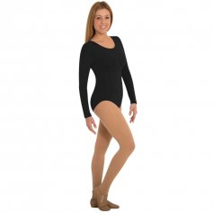 Body Wrappers Long Sleeve Leotard