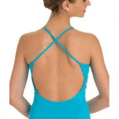 Body Wrappers ProTECH Cross-Over Front Camisole Leotard