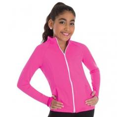 Body Wrappers Color Custom Girls ProWEAR Raglan Sleeve Team Jacket