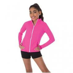Body Wrappers Child Raglan Sleeve Team Jacket