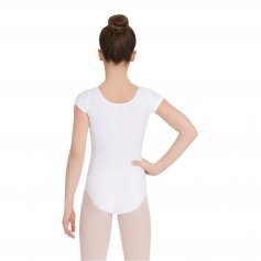 Capezio Girls' Short Sleeve Leotard