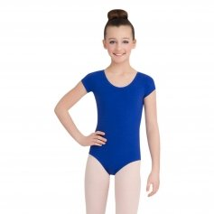 Capezio Girls\' Short Sleeve Leotard
