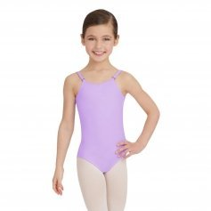 Capezio Girls\' Camisole Leotard With Adjustable Straps