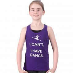 "Covet Child ""I Can't, I Have Dance"" Tank Top"