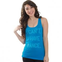 "Covet ""I Can't, I Have Dance"" Racerback Tank"