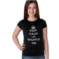 """Covet Child """"Keep Calm and Shuffle On"""" Tee"""