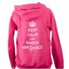 "Covet Adult ""Watch Her Dance"" Dance Parent Hoodie"