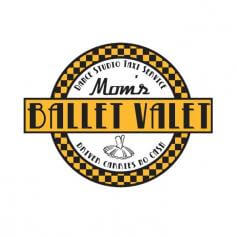 Covet Mom\'s Ballet Valet-Taxi Service White Tee