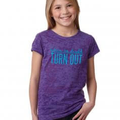 """Covet Child """"Turn Out"""" Burnout Tee"""
