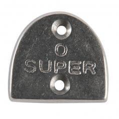 Danshuz Aluminum Alloys Super Heel Tap