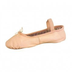 Danshuz Child Full Sole Leather Economy Student Ballet Slipper