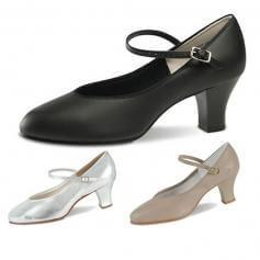"""Danshuz 2\"""" Heel Musical Comedy Character Shoe"""