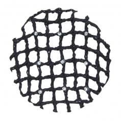 Danshuz Lattice Bun Cover With Rhinestones