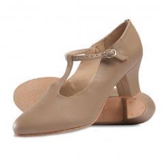 "Danshuz 2\"" Heel Broadway Classic T-Strap Character Shoe"
