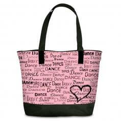 Danshuz Dance is in My Heart Tote Bag