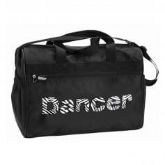 "Danshuz Black Zebra ""Dancer"" Bag"