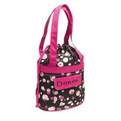 Danshuz Dots Prints Dance Cinch Tote Bag