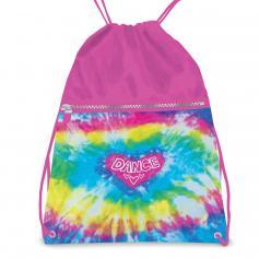 Danshuz Love Tie Dye Drawstring Backpack Bag