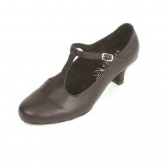 "Dimichi ""Lena\"" Leather Insole Ballroom Shoes"
