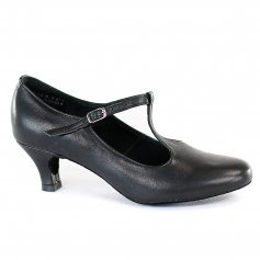 "Dimichi ""Lena\"" Leather Insole Heel 2\"" Ballroom Shoes"
