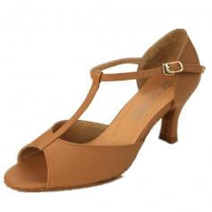 "DiMichi Adult \""Sophia\"" Open-toe T-strap Ballroom Shoe"