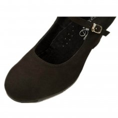 "DiMichi Adult \""Patricia\"" Suede Flamenco shoe"