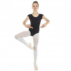 Danzcue Child Short Sleeve Ballet Cut Leotard