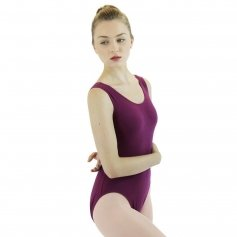 Danzcue Adult Cotton Tank Ballet Cut Leotard