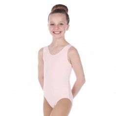 Danzcue Child Cotton Tank Ballet Cut Leotard