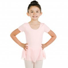 DANZCUE Tank Sleeve Skirted Leotard