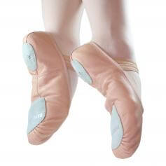 Danzcue Child Split Sole Leather Ballet Slipper
