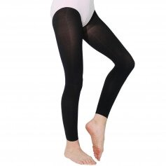 Danzcue Child Soft Footless Tights