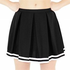 Danzcue Adult Knit Pleat Cheerleading Skirt