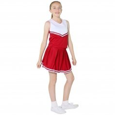 Danzcue Child Knit Pleat Cheerleading Skirt