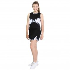 Danzcue Adult 2-Color Kick Sweetheart Cheerleaders Uniform Set