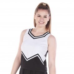 Danzcue Adult M Sweetheart Cheerleaders Uniform Shell Top
