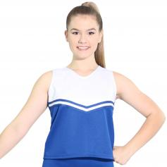 Danzcue Adult V-Neck Cheerleaders Uniform Shell Top