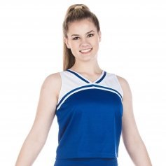 Danzcue Adult Classic Cheerleaders Uniform Shell Top