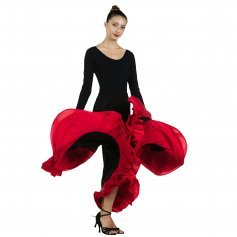 Danzcue Flamenco Full Circle Ruffles Skirt