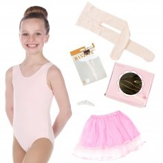 Danzcue Girls Princess Gift Ballet Dance Leotard Tutu Box Set